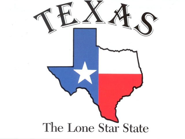 Texas, the lone star state.